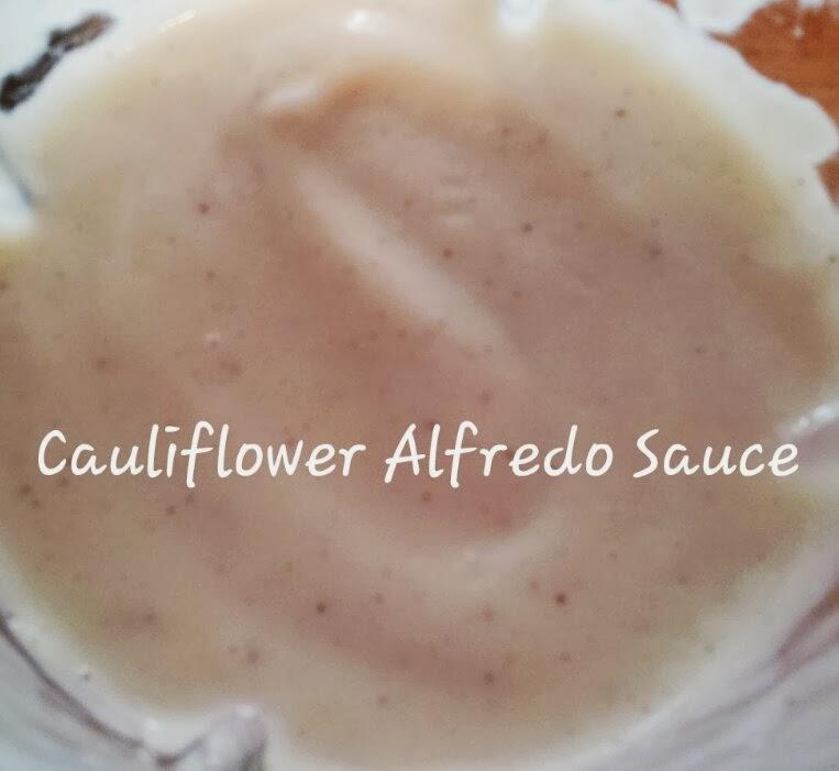 Cauliflower Alfredo Sauce | Sandy\'s Kitchen