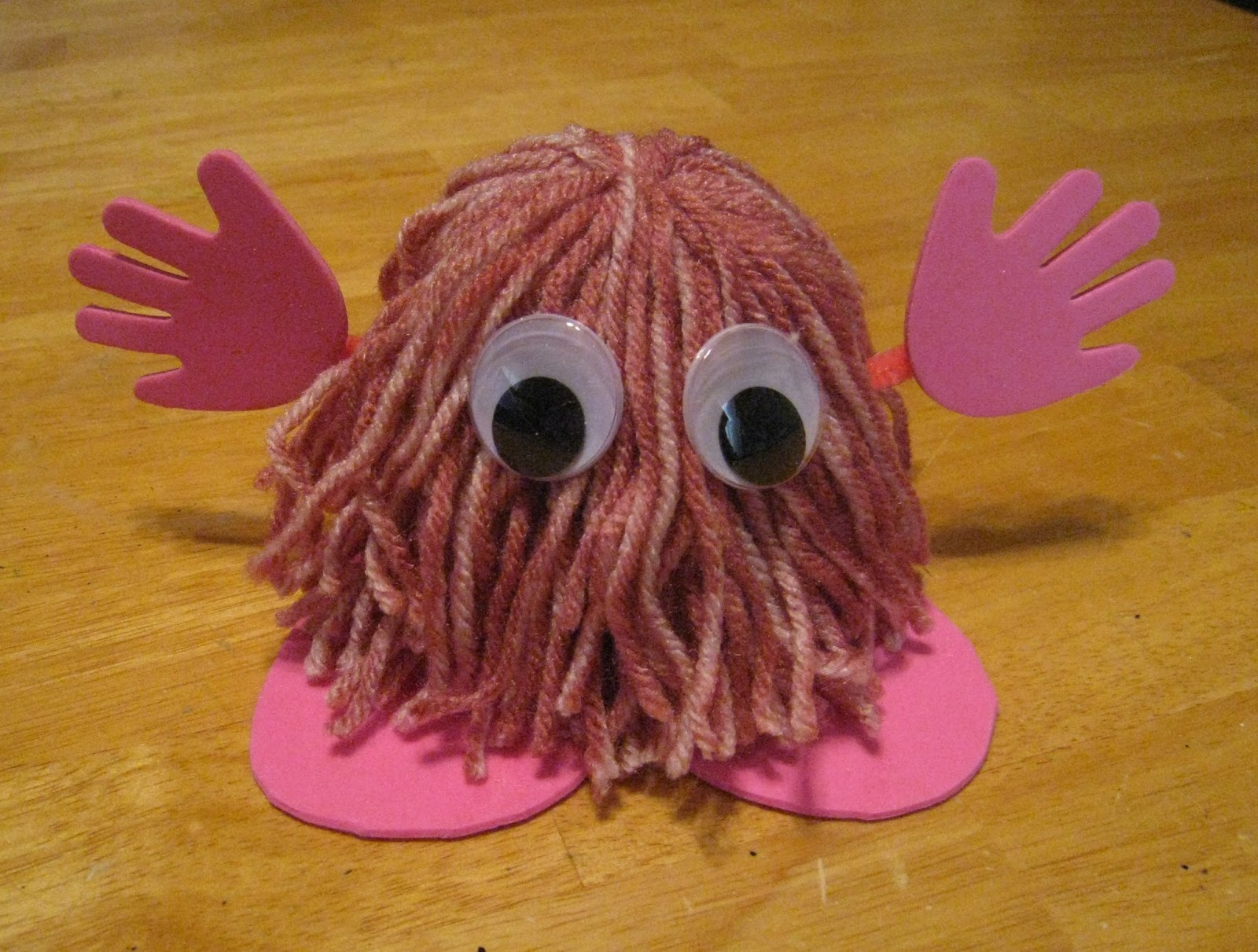 crafts 4 camp  warm fuzzy monsters