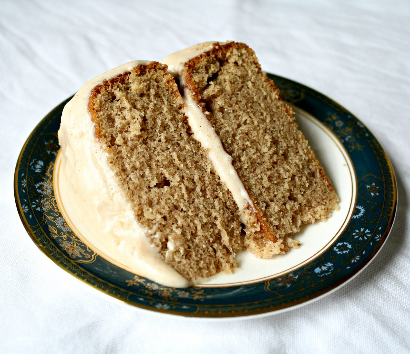 ... Made from Scratch: Spice Layer Cake with Cream Cheese Frosting