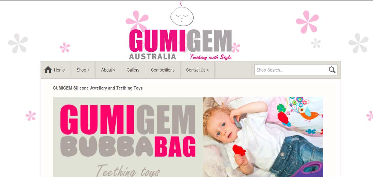 Gumigem Australia teething products for babies and toddlers