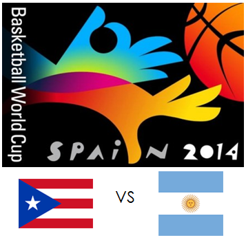 Puerto Rico vs Argentina Live Stream, Replay Video