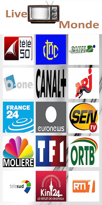 Regardez les chaînes de télévision en direct gratuitement sur Live TV Monde