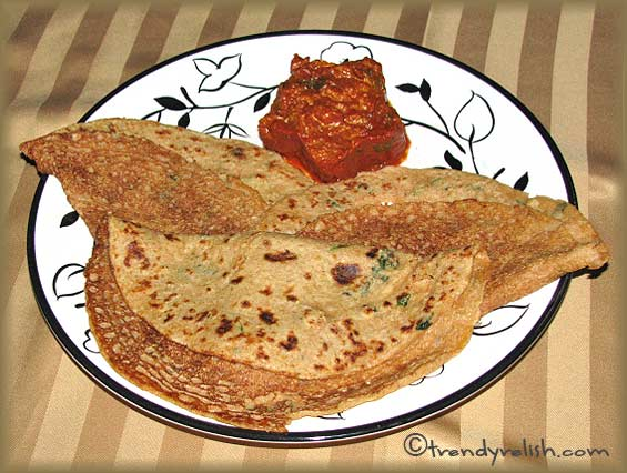 Whole Wheat – Soy Dosa