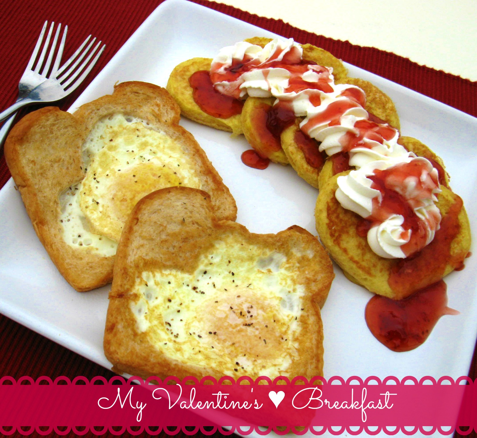 wow your valentine with this valentines day breakfast for two - Valentines Breakfast Recipes