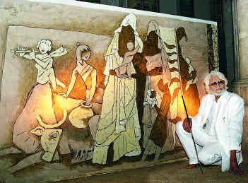 Artist Mf Hussain Paintings
