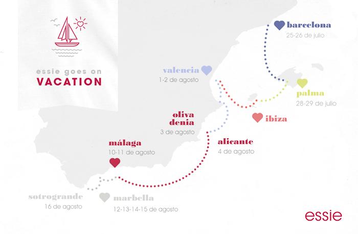 participa en el concurso de esmaltes essie en los puertos del mediterraneo