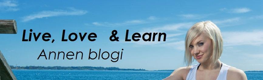 Live, Love & Learn - Annen blogi