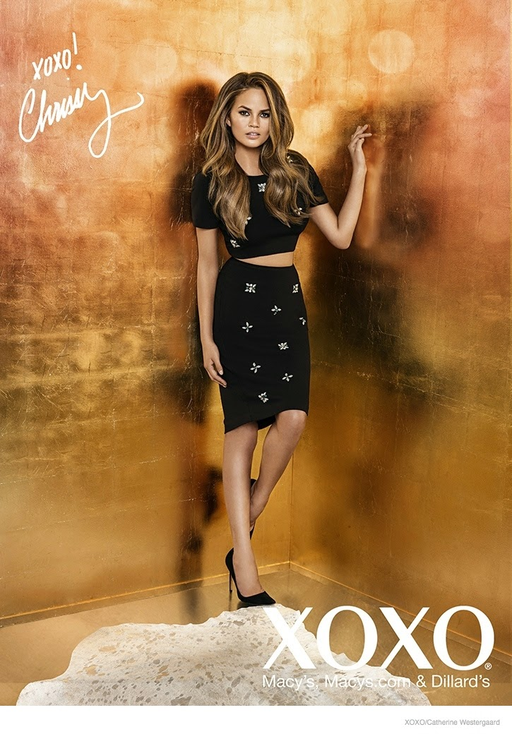 XOXO Fall/Winter 2014 Campaign featuring Chrissy Teigen
