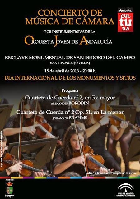 Concierto Orquesta Joven de Andalucía en San Isidoro del Campo - Santiponce