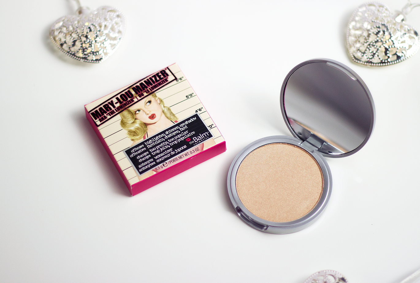 theBalm Mary-Lou Manizer, theBalm Mary-Lou Manizer review, theBalm Mary-Lou Manizer review blog, theBalm Mary-Lou Manizer swatches, theBalm Mary-Lou Manizer swatch