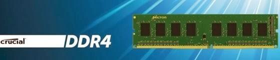 Módulo de memória RAM DDR4 Crucial - 560x120