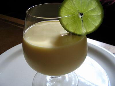 Frozen Mango Lime Lassi