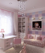 Habitaciones de Chicas Lindas rosa lila azul sala de ninas