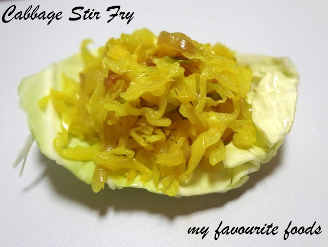 cabbage-fry