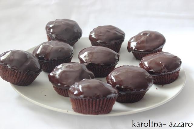 Čoko- mätové Cupcakes