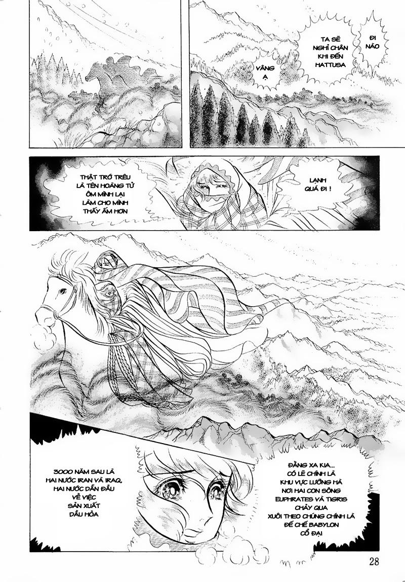 Nữ Hoàng Ai Cập-Ouke no Monshou chap 50 Trang 31 - Mangak.info
