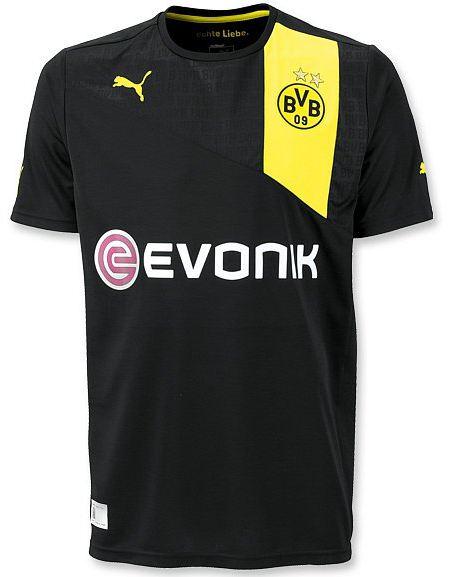 Segunda camiseta / uniforme / equipación Borussia Dortmund 2012-2013
