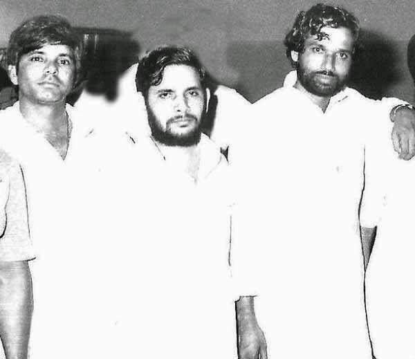 Rare pic of friends turned foes nd Vice-a-Versa...(L-R) Lalu PrasadYadav, Sharad Yadav, Ram Vilas Paswan,