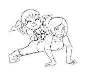 #10 Wii Fit Trainer Coloring Page