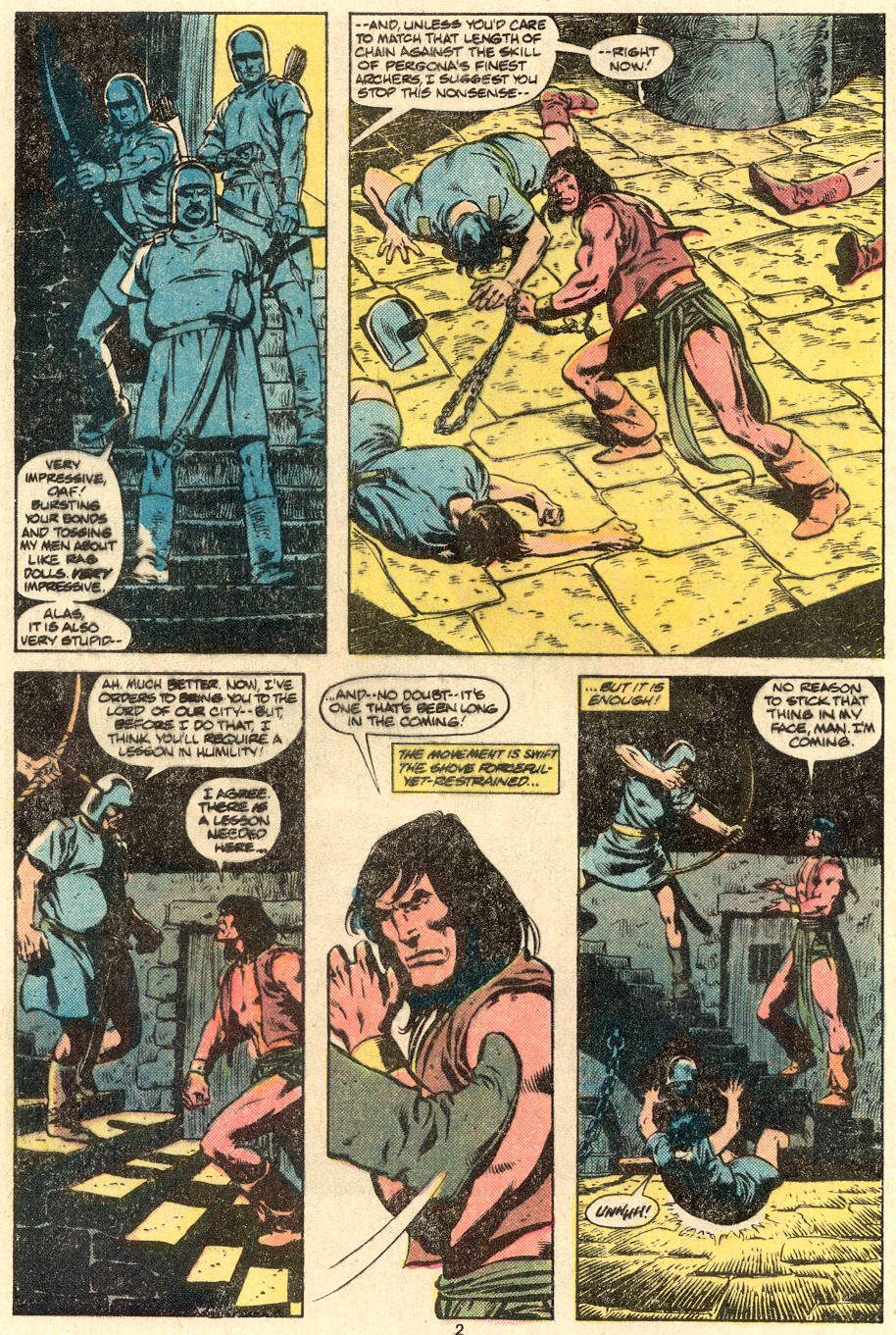 Conan the Barbarian (1970) Issue #123 #135 - English 3