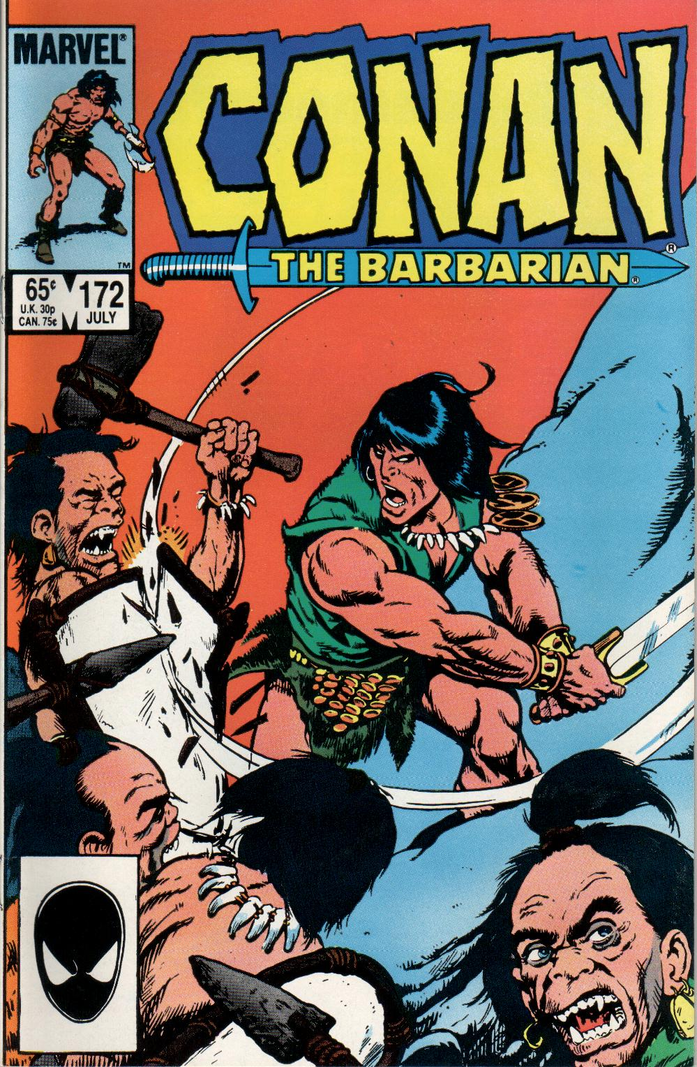 Conan the Barbarian (1970) Issue #172 #184 - English 1