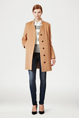 French Connection Camel Coat