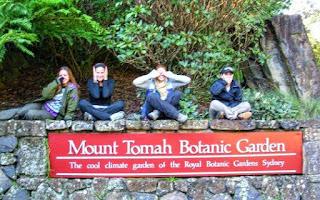 Mount Tomah Botanic Garden Sign