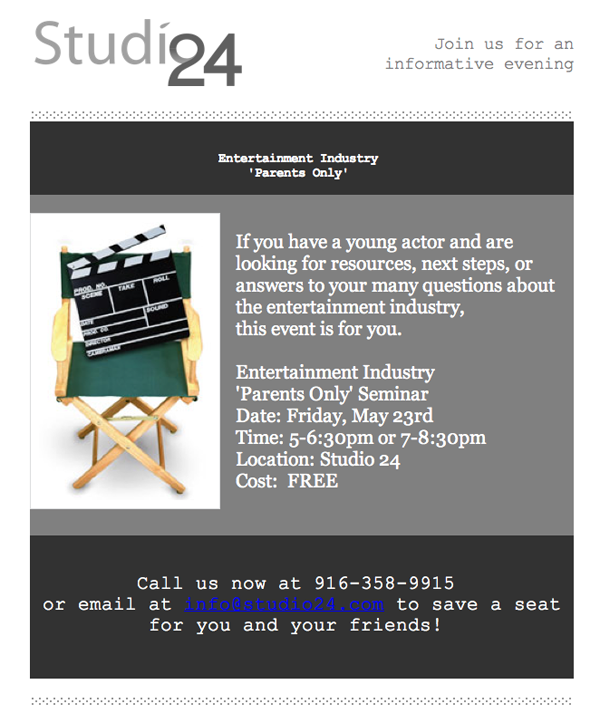 Studio 24 Flyer