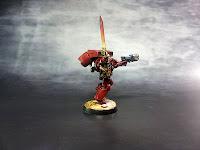 Blood Angels - Escuadra de Asalto - Warhammer 40000 - Sargento 3