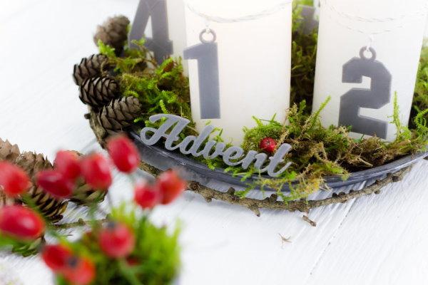 Advent, Advent aus dem 3D Drucker mit gratis Dateien