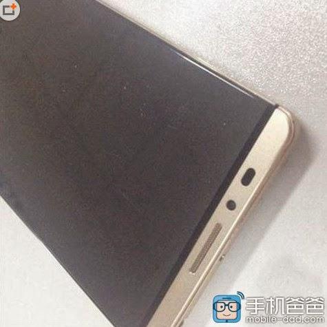 Wujud Huawei Mate 8 beredar di dunia maya, dibekali layar dengan bazel super tipis
