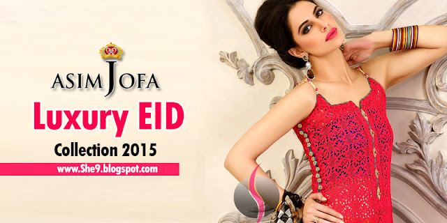 Asim Jofa Luxury Eid Collection 2015 Catalog