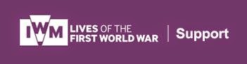 Lives of the First World War logo and title with added word Support