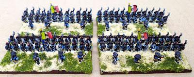 6mm Risorgimento Italian infantry