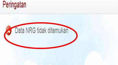 Upload File Error NRG Tidak Ditemukan Ini Penjelasannya