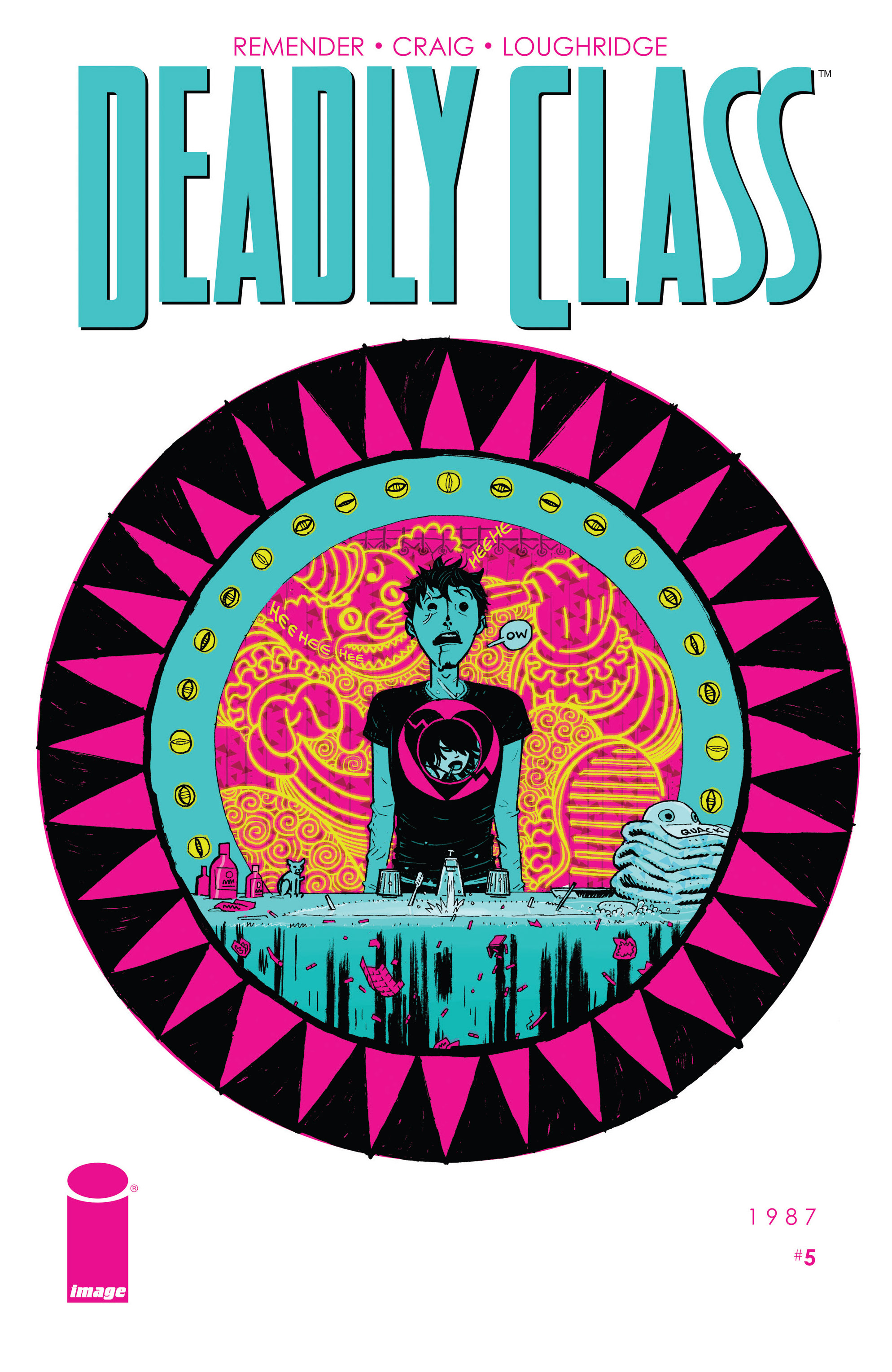 Read online Deadly Class comic -  Issue #5 - 1