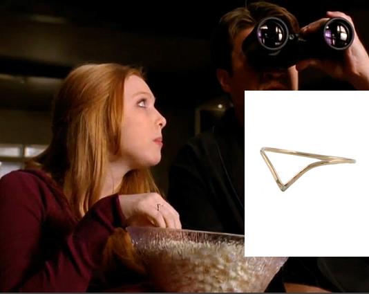 Molly Dixon wears a Peggy Li Creations Ring