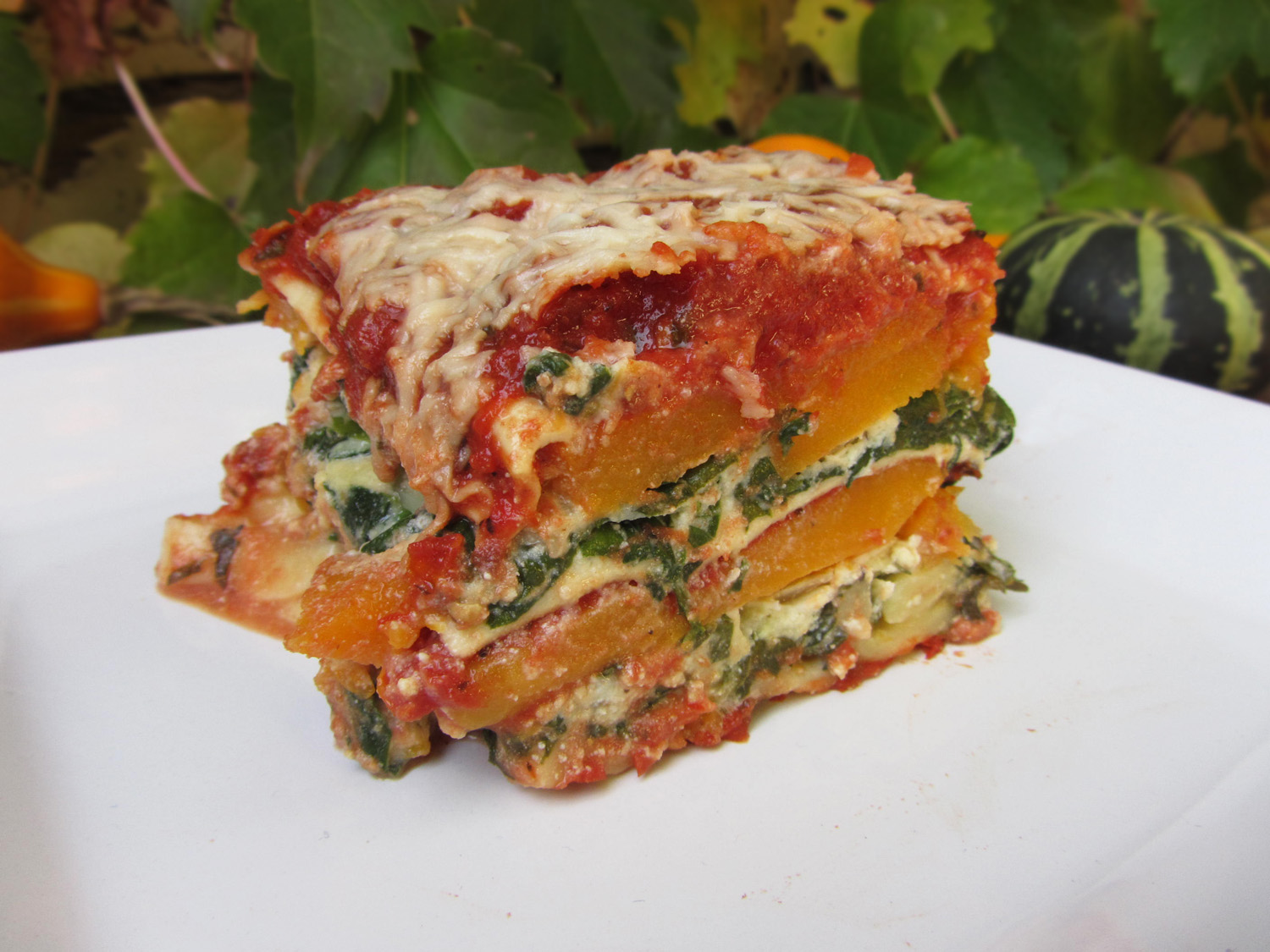 Butternut Squash Lasagna Recipe — Dishmaps