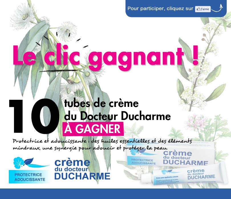 10 tubes de crème du Docteur Ducharme