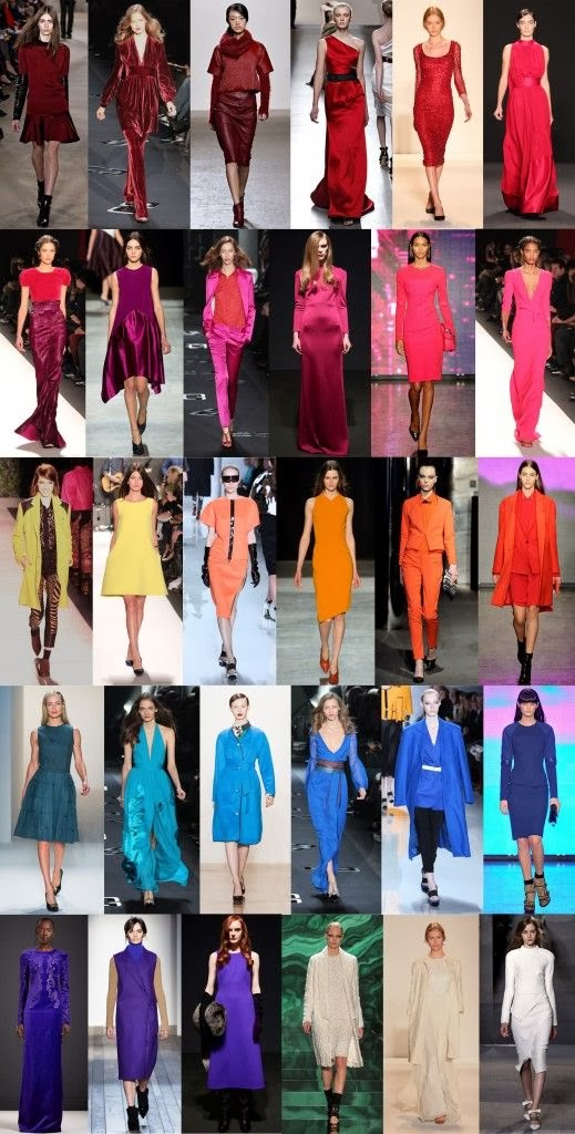 ever wanting fall winter 20132014 fashion color trends
