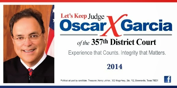 KEEP OSCAR 357TH DISTRICT JUDGE