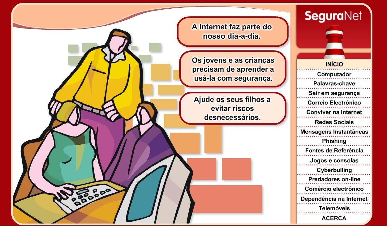 Mais segurança na net (pais)
