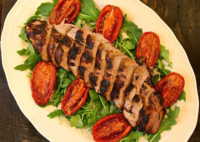 best pork loin recipe easy pork loin marinated pork loin roasted pork loin slow roasted tomatoes