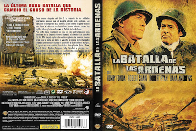 Carátula, cover, dvd: La batalla de las Árdenas | 1965 | Battle of the Bulge