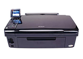 epson nx400 printing blank pages