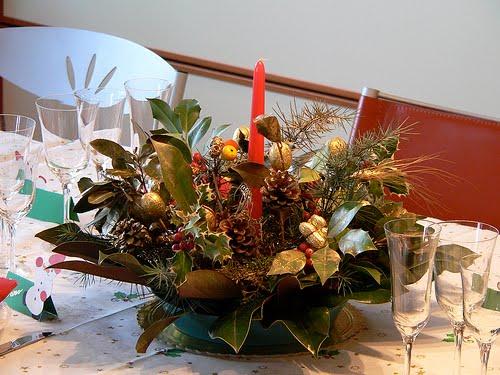 Blog de la biblioteca de la llagosta de desembre 2015 - Como hacer un centro de mesa navideno ...