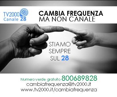 TV2000 CAMBIA FREQUENZA MA NON CANALE