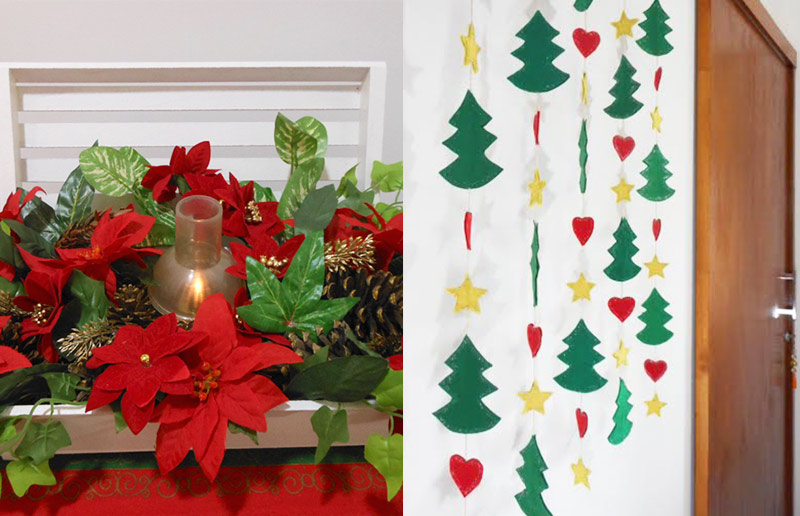A decoração de Natal da blogueira Mariely