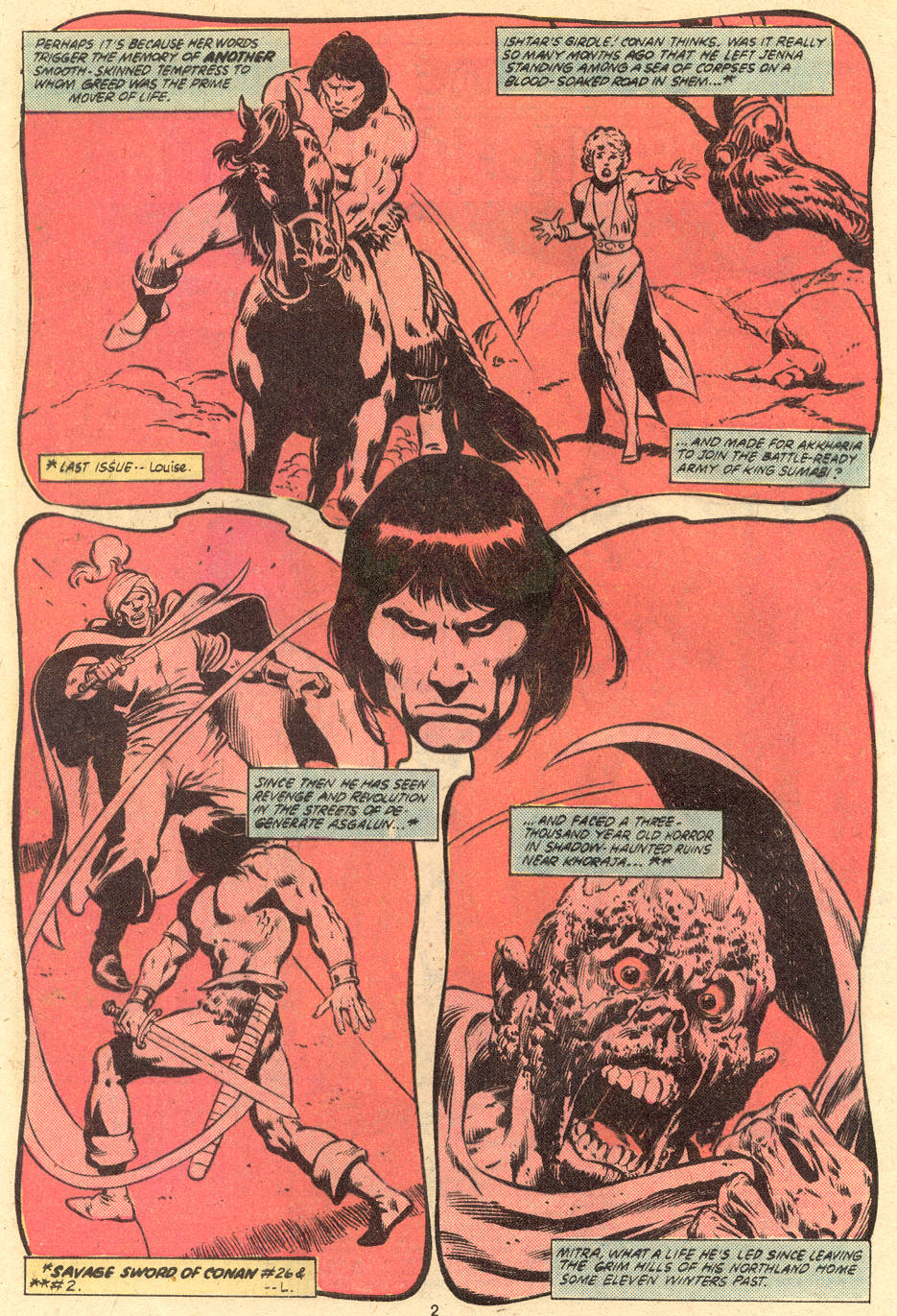 Conan the Barbarian (1970) Issue #121 #133 - English 3