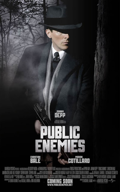 public enemies movie poster christian bale 01 Filmography (old layout)
